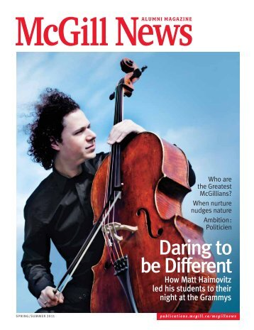 McG News - McGill Publications - Université McGill