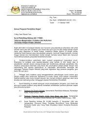 Surat Pekeliling Ikhtisas Bil. 7/1995 - Kementerian Pelajaran Malaysia