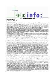 SELK.Info Nr. 250, Dezember 2000 .Info Nr. 250, Dezember 2000 ...