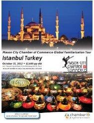 ISTANBUL TURKEY - Mason City Chamber of Commerce