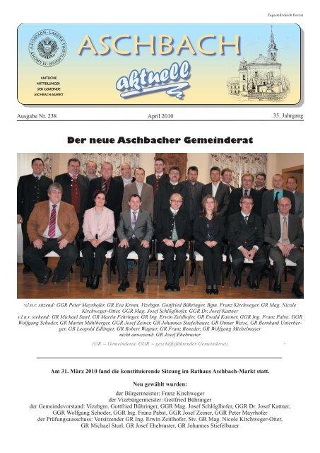 Bekanntschaften in Aschbach-Markt - Partnersuche