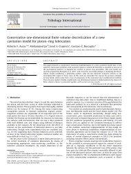 Conservative one-dimensional finite volume discretization of ... - USP
