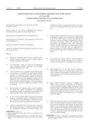 DIRECTIVE 2003/25/EC OF THE EUROPEAN ... - EUR-Lex