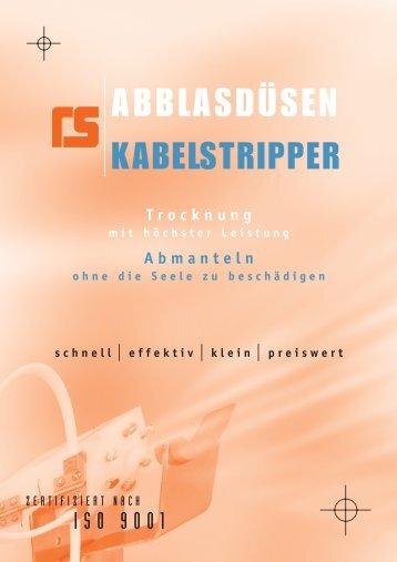HUESTIS Abblasdüsen - Schlicht GmbH