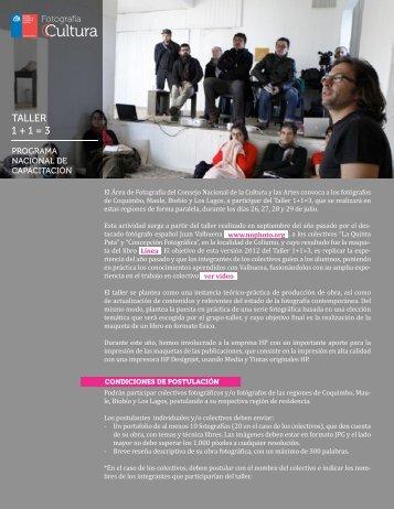 Más información de profesores y colectivos - Consejo de la Cultura ...