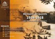 Les monuments aux morts - Conseil général des Pyrénées Atlantiques