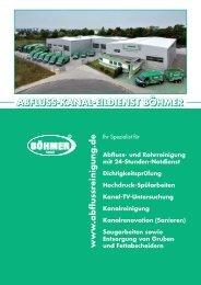Broschüre herunterladen - AKE Abfluss-Kanal-Eildienst Böhmer ...