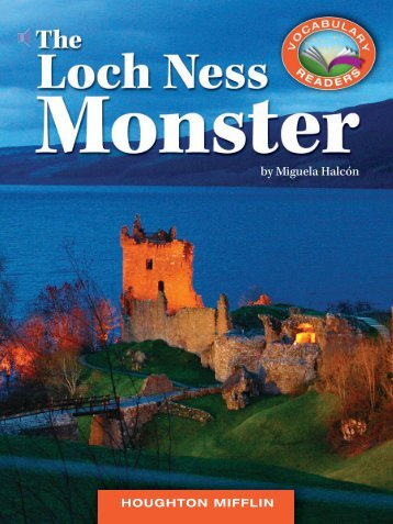 Lesson 26:The Loch Ness Monster