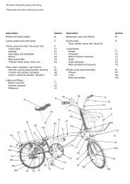 brompton spares and extras price list, us trade. - Electric bikes ...