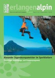 berichte - Alpenverein Sektion Erlangen