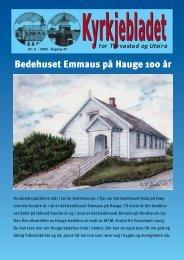Bedehuset Emmaus på Hauge 100 år