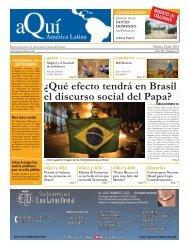 ¿Qué efecto tendrá en Brasil el discurso social del ... - Aqui-online.com