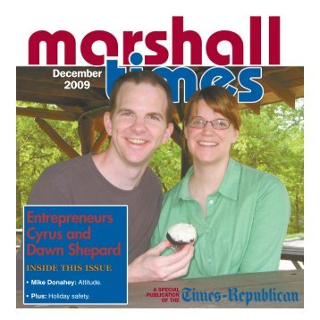 Entrepreneurs Cyrus and Dawn Shepard - Times Republican