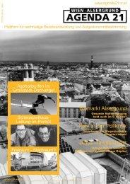 Newsletter 4 - Lokale Agenda 21 in Wien/Alsergrund