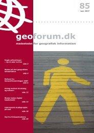 85 geoforum.dk - GeoForum Danmark