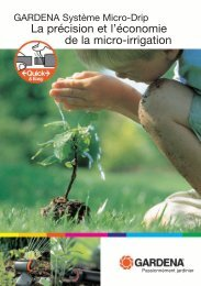 La précision et l'économie de la micro-irrigation - Pironet NDH AG