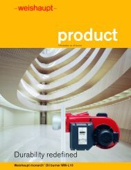 Download brochure 1.4 MB (pdf) - Weishaupt