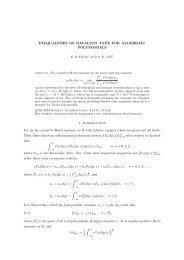 Inequalities of Rafalson type for algebraic polynomials