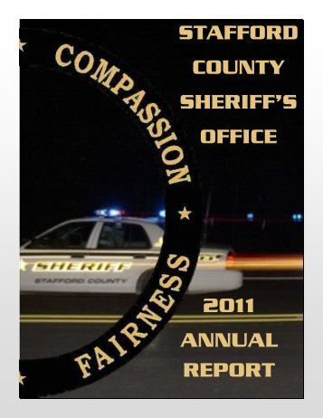 STAFFORD COUNTY SHERIFF'S OFFICE 2011 ANNUAL REPORT
