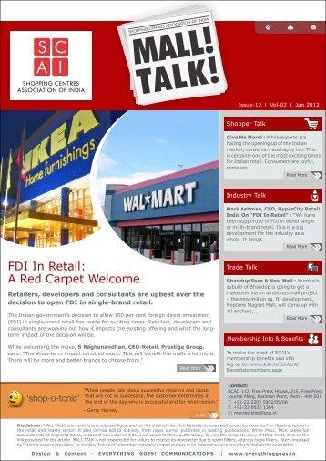 Mall Talk Issue Jan - Scai.in