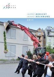 Jahresbericht 2011 - Stadt Arbon