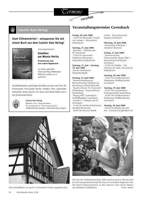 Geschichte erleben Nummer 2 Mittwoch, 18. Juni 2008 Jahrgang 2008
