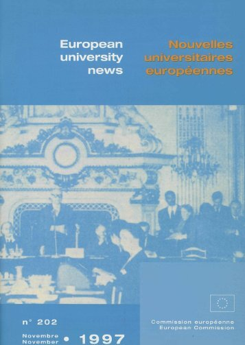 Le trentième anniversaire de l'Institut d'études européennes de l ...