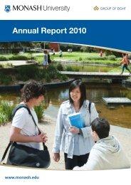 Annual Report 2010 - Monash University
