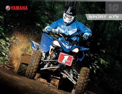 Download the 2010 Sport ATV Brochure - Yamaha Motorsports Home