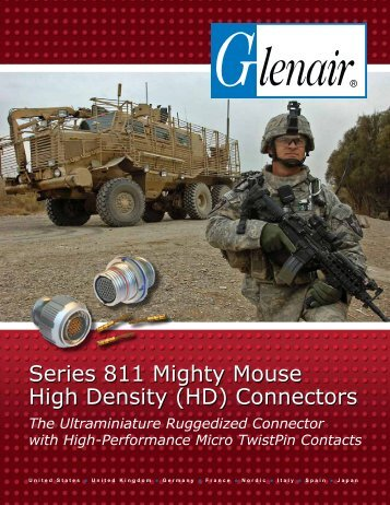 Series 811 Mighty Mouse High Density (HD) Connectors - Glenair, Inc.