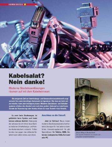 Steckdosenlösungen (PDF) - Elektro-Sell