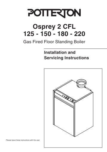 Osprey 2 CFL 125 - 150 - 180 - 220 - AC Wilgar