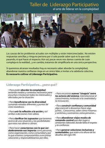 Taller de Liderazgo Participativo - centropatagonico.org.ar