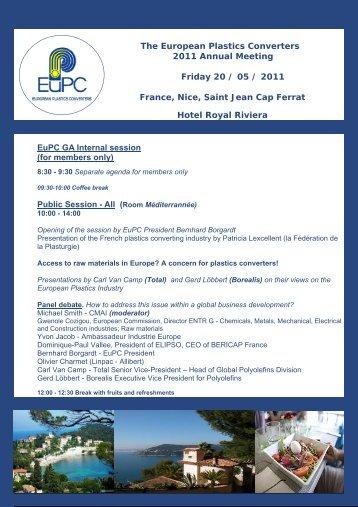 full programme - Europa