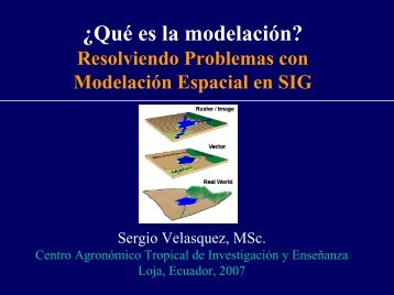 Modelación espacial