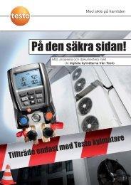 Testo kylmätare 550-557-570 - Nordtec Instrument AB