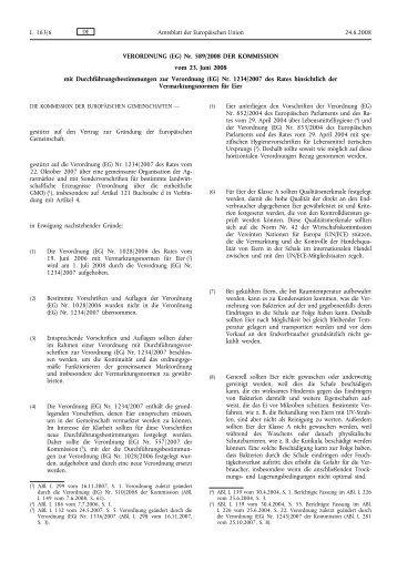 VERORDNUNG (EG) Nr. 589/2008 DER KOMMISSION vom 23. Juni ...