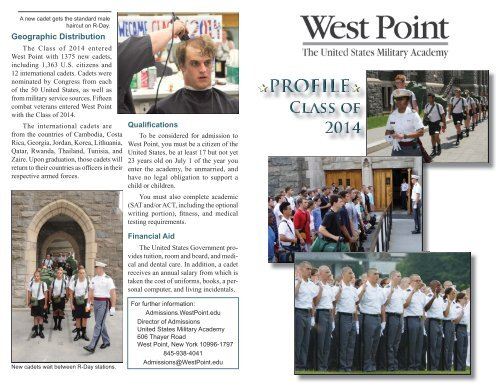Class of 2014 - West Point