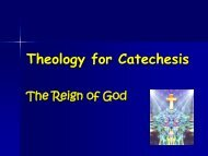 Theology for Catechesis