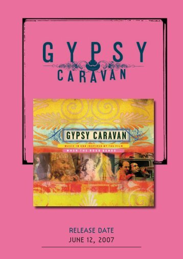 English - When the Road Bends... tales of a GYPSY CARAVAN