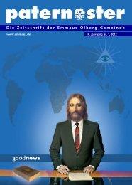 Die gesamte Ausgabe als pdf-Datei (5360k) - Emmaus-Ölberg ...