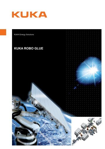 KUKA Robo Glue datasheet - KUKA Systems