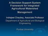 A Decision Support System Framework for Integrated Agricultural ...