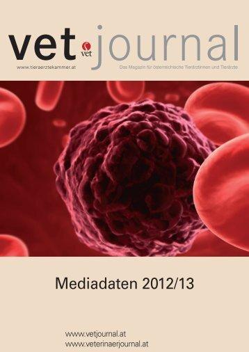 Mediadaten 2012/13 - Vet Journal