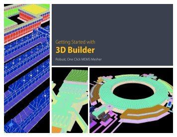Getting Started With 3DBuilder - Intellisense