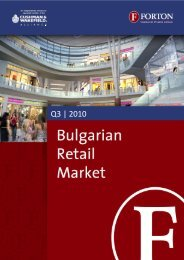 Bulgarian Retail Market – Q3, 2010.pdf - Forton