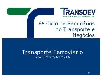 Transporte Ferroviário - Transportes & Negócios