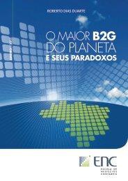"""Estudo """"O Maior B2G do Planeta"""" - Blog de Roberto Dias Duarte"""