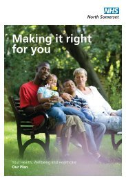to download the 2011/2012 Operational Plan Leaflet - NHS North ...