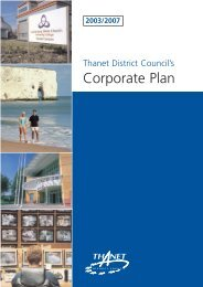 Corporate plan - Thanet District Council